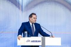 Φωτό Ευτύχιος Βασιλάκης Πρόεδρος AEGEAN 1