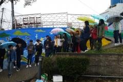Korean_high_school_students_visiting_Dongpirang_Wall_Painting_Village_Katerina_Lygkoni